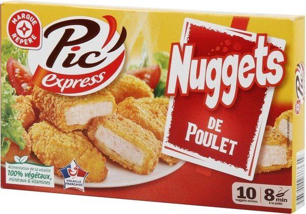 Nuggets de poulet x10 - Product - fr