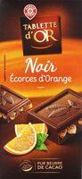Chocolat noir écorces d'orange - Product - fr