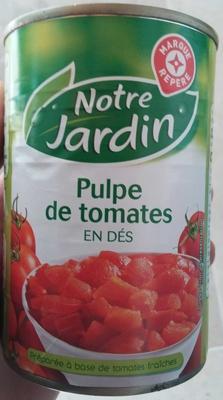 Pulpe de tomates en dés - Product