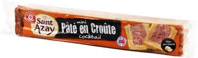 Mini pâté en croûte supérieur - Product - fr