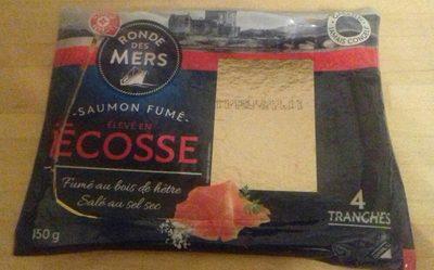 Saumon d'Ecosse 4 tranches - Product