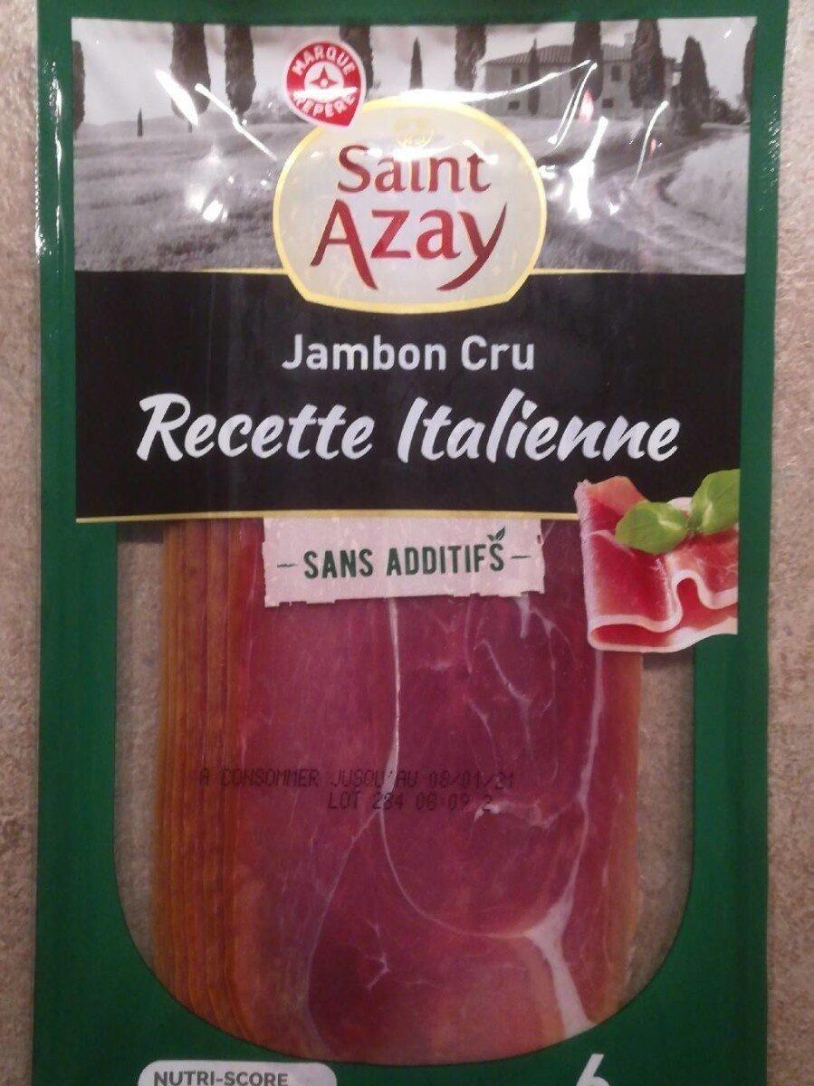 Jambon cru italien 6 tranches - Produit - fr