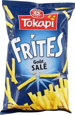 Frites goût salé - Produit - fr