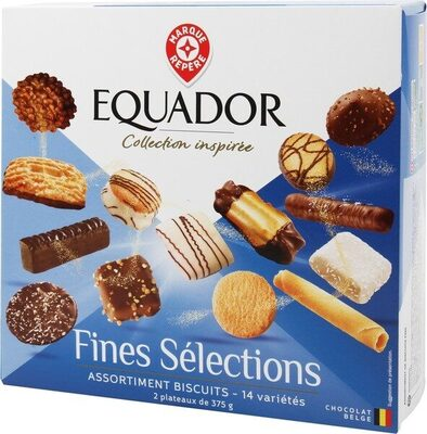 Assortiment de biscuits fins - Product
