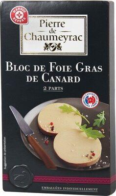 Duo de bloc de foie gras de canard - Product