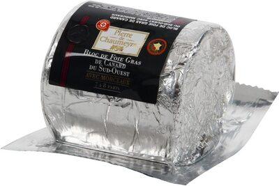 Bloc de foie gras de canard avec morceaux - 2