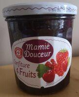 Confiture 4 fruits rouges - Prodotto - fr