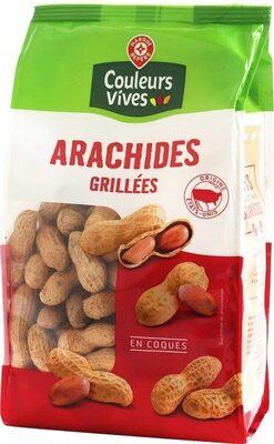 Arachides coques grillées - Produit - fr