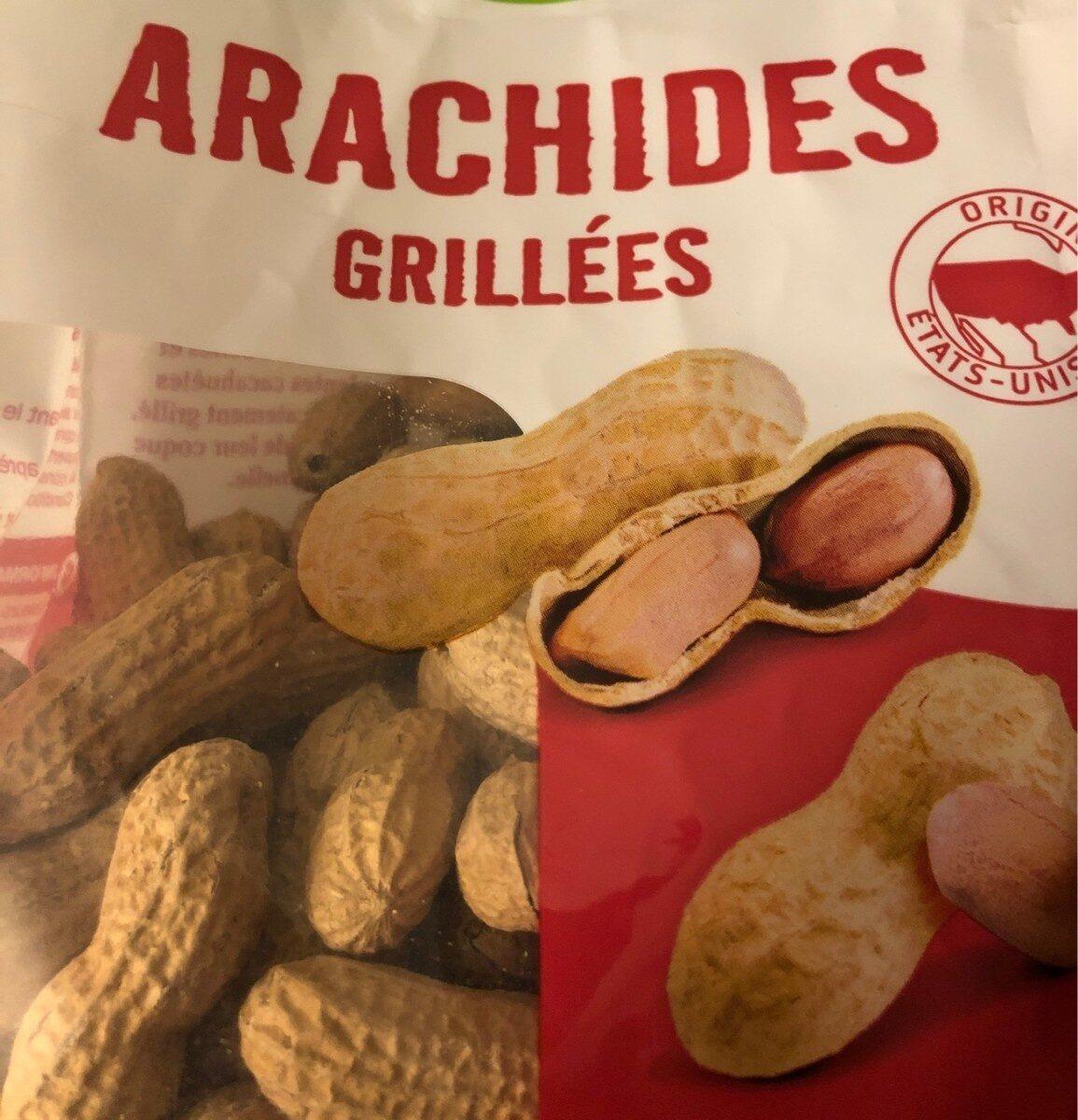 Arachides coques grillées - Informations nutritionnelles - fr