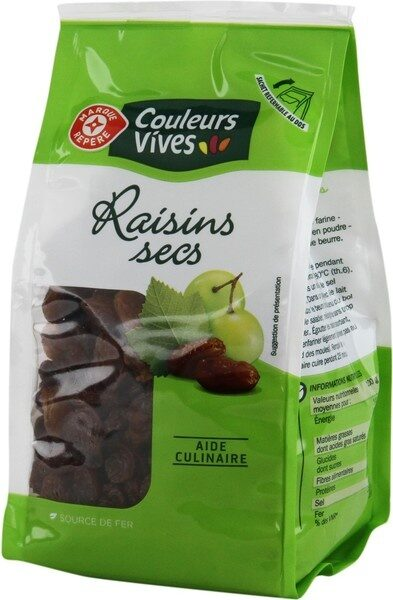 Raisins secs - Product