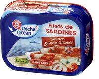 Filets de Sardines à la Tomate et aux petits légumes - Product