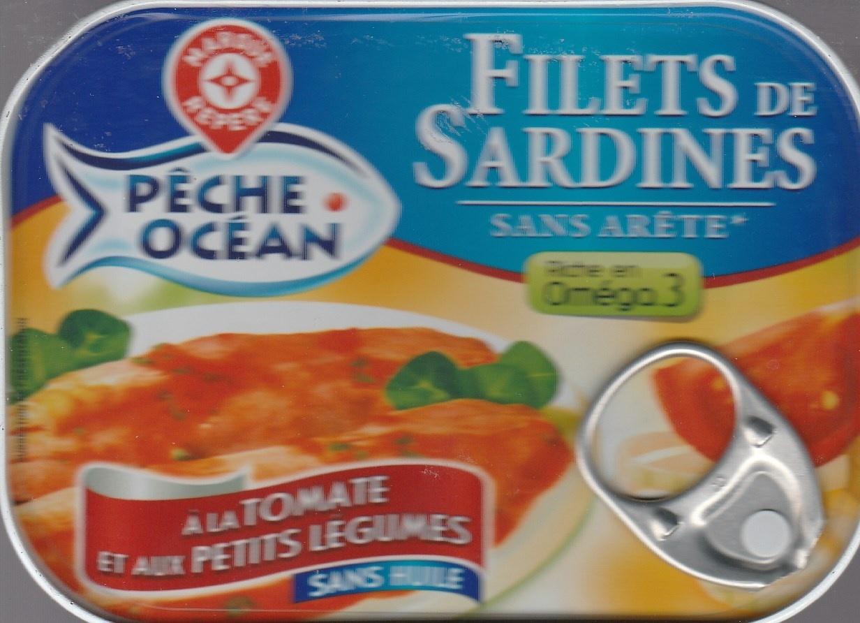 filets de sardines la tomate et aux petits l gumes. Black Bedroom Furniture Sets. Home Design Ideas