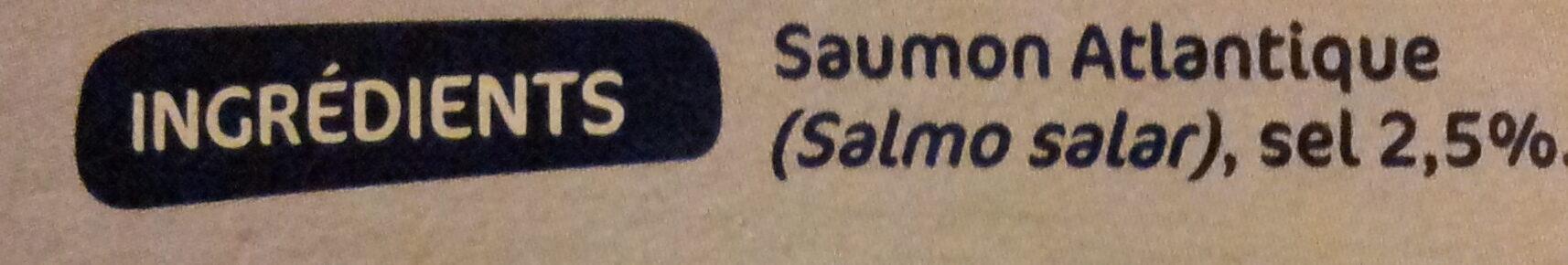 Lardons de Saumon fumé - Ingrédients - fr