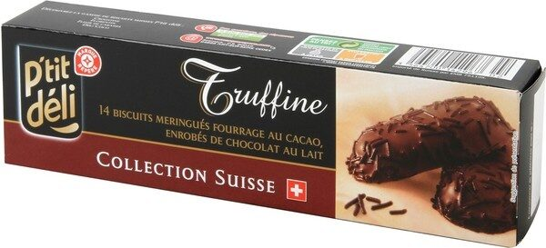 Biscuits meringués fourrés chocolat - Product