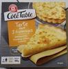 Tarte aux 3 fromages surgelée - Producto