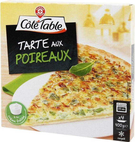 Tarte aux poireaux - Produit - fr