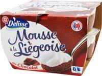 Crèmes à la liégeoise au chocolat - Product - fr