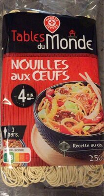 Pâtes chinoises aux oeufs - Product - fr
