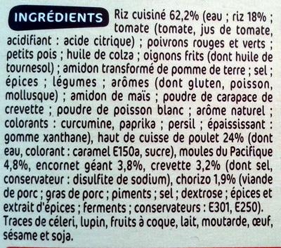 Paella royale c t table 400 g 1 personne - Acide citrique leclerc ...