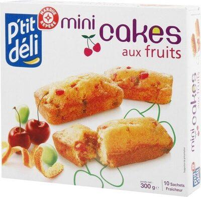 Mini-cakes aux fruits - x 10 - Product - fr