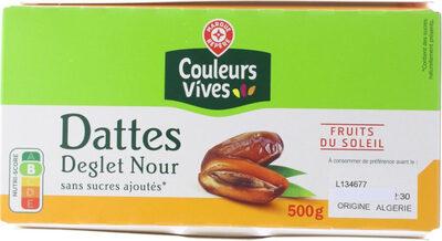 Dattes Deglet Nour - Produit - fr