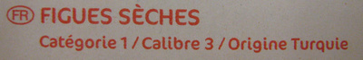 Figues sèches - Ingrédients - fr