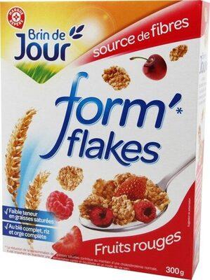 Forme flakes pétales de riz et de blé aux fruits rouges - Product - fr