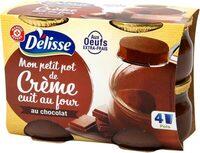 Petit pot de crème chocolat - Produit