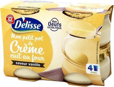 Petits pots de crème vanille - Produit - fr