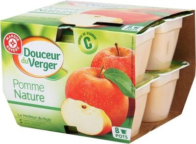 Desserts de fruits pomme x8 - Product