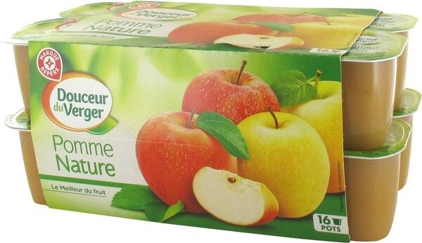 Compote pomme x 16 - Product