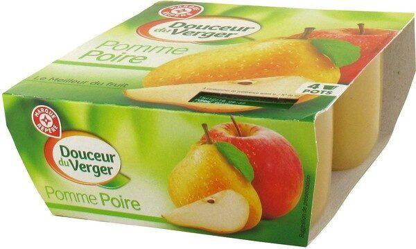 Dessert de fruits pomme pore x4 - Product - fr