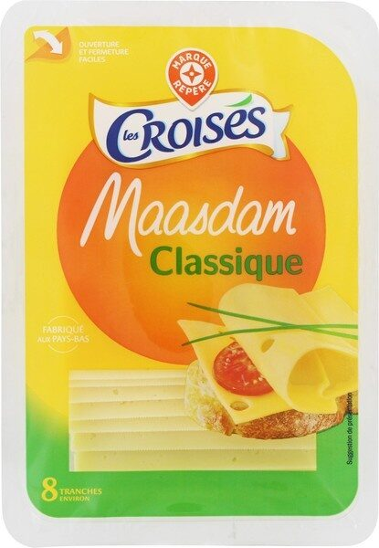 Maasdam tranchettes 29% Mat. Gr. - Product - fr