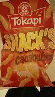 Snacks croustillants cacahuète - Produit - fr