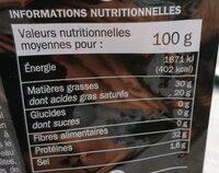 Parmigiano reggiano 28,4 % Mat. Gr. mini - Informations nutritionnelles - fr