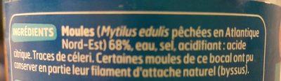 Moules au Naturel - Ingredients - fr