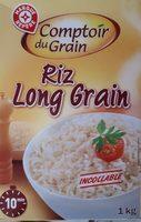 Riz long étuvé rapide 10' - Ingredients - fr