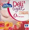 Déli'Light Fromage blanc aux fruits 0% mat.grasse - Product