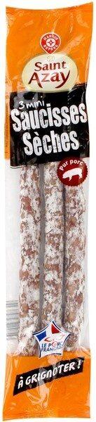 Mini saucisses sèches pur porc à grignoter - Product