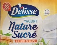 Yaourt nature au sucre de canne - Produit - fr