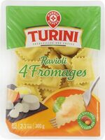 Raviolis 4 fromages - Product - fr