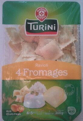 Raviolis 4 fromages - Produit - fr