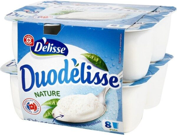 Fromage blanc sur crème fouettée - Product