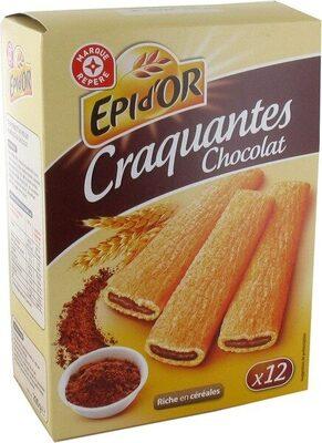Tartines fourrées craquantes au chocolat - Épi d'Or - 200 g  Tartines fourr�...