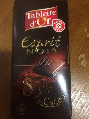 Chocolat noir 85% cacao - Product - en