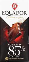 Chocolat noir 85% cacao - Produit - fr