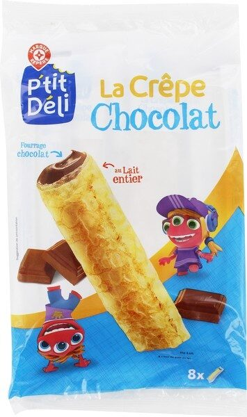 Crêpes fourrées chocolat x 8 - Product