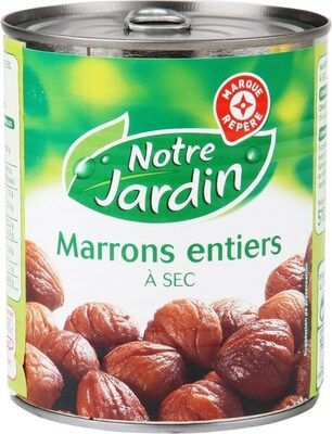Marrons entiers a secs 510g pn - Product