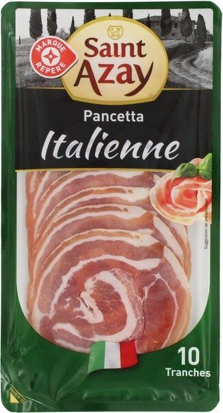 Pancetta italienne x 10 tranches - Product