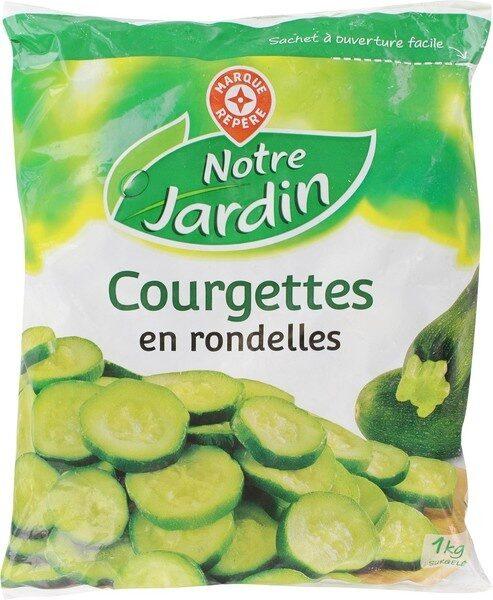 Courgettes rondelles surgelées - Produit - fr
